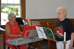 Ann Makin and Carol Ellis